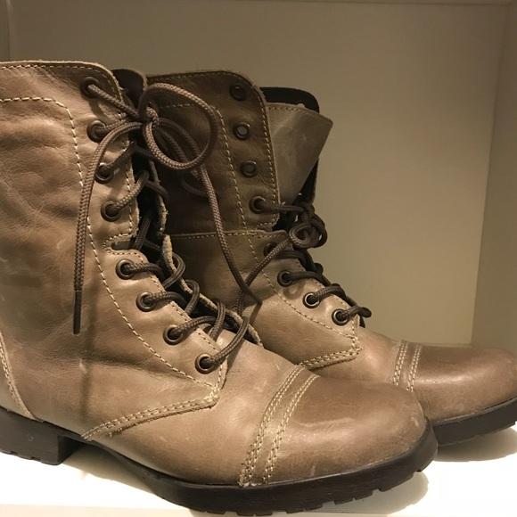 Steve Madden 'combat boots'